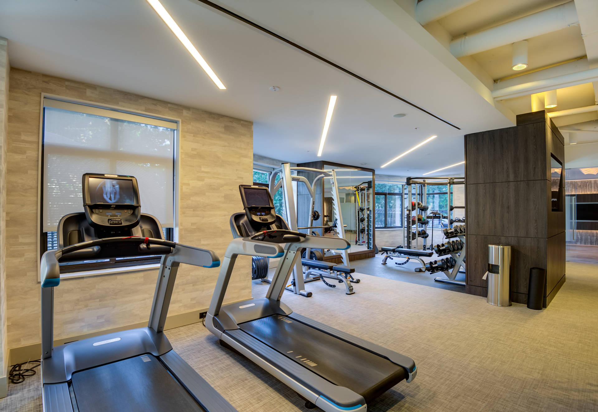 Work up a sweat in our fitness center.