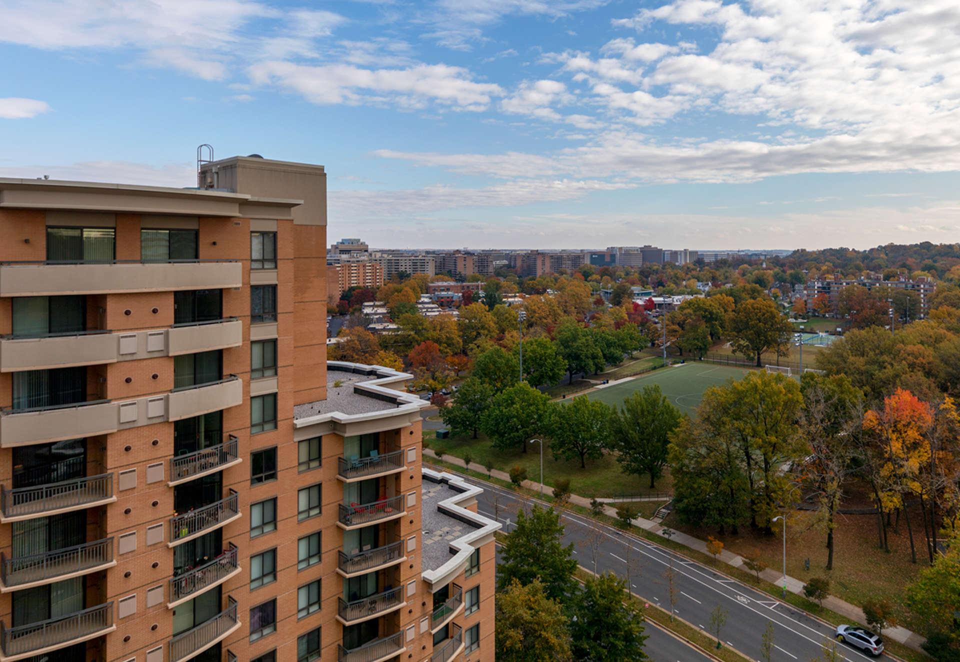 Stunning views from Instrata Pentagon City.