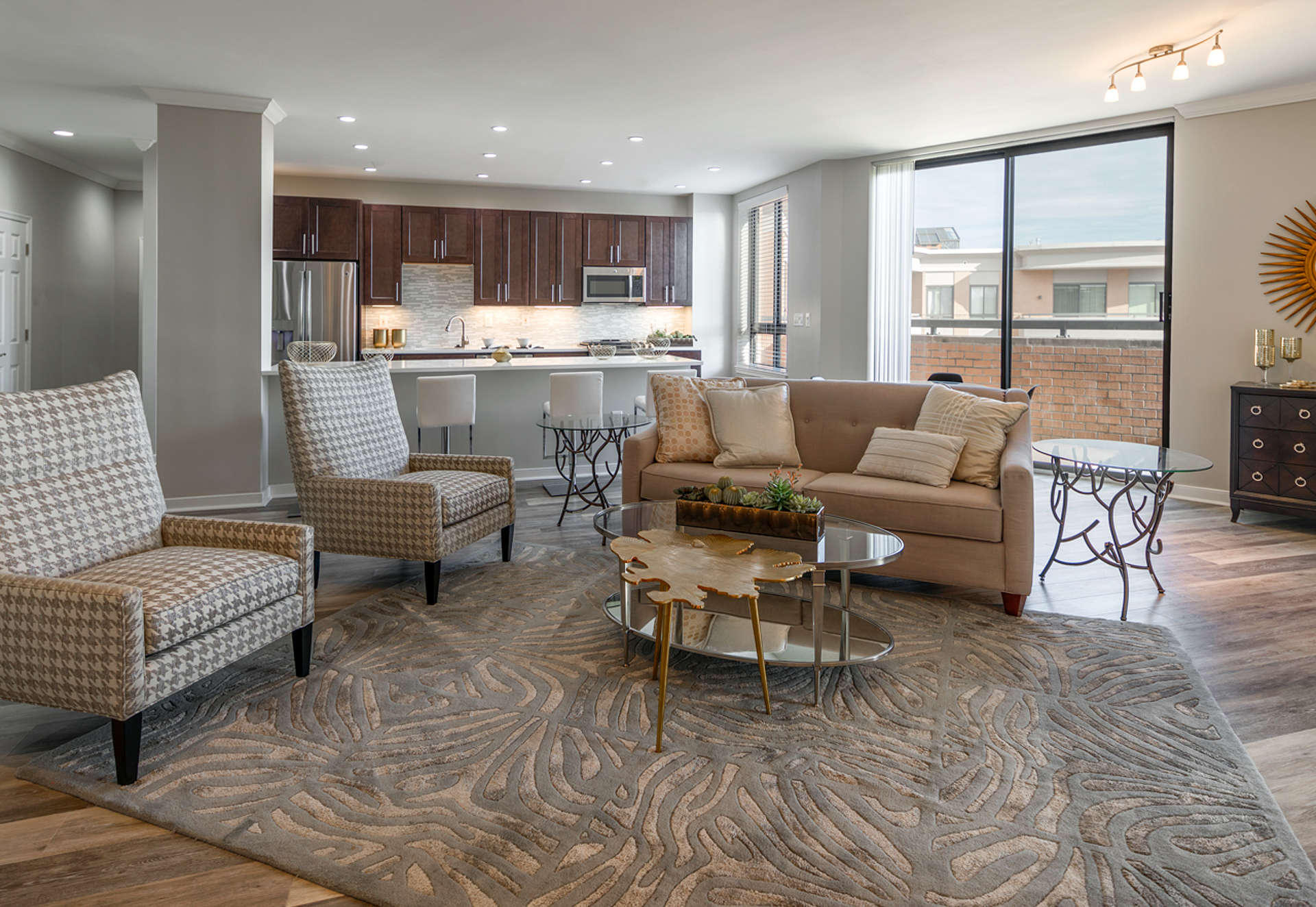 Open-concept living for truly inspired apartments.